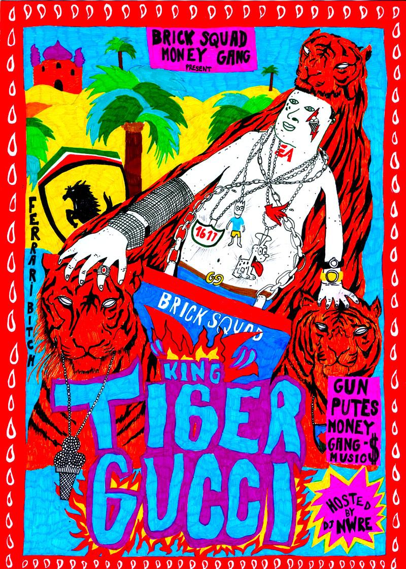 poster-hip-hop-story-king-tiger-gucci