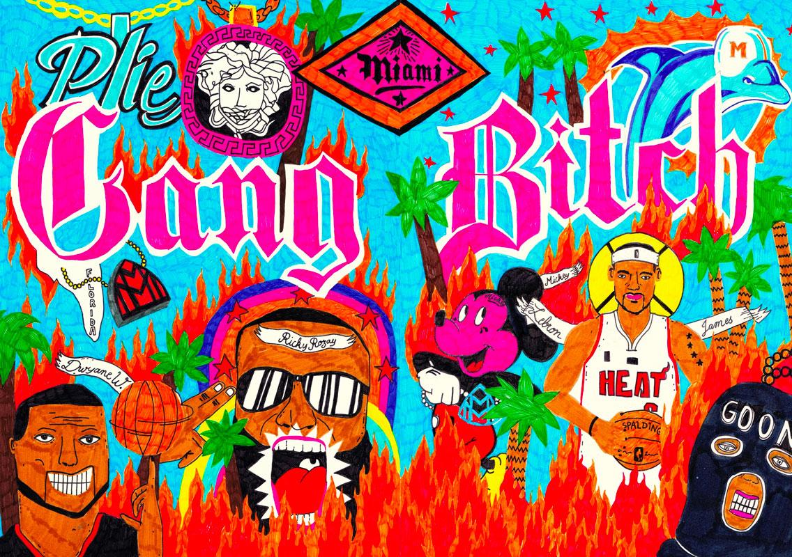 poster-hip-hop-story-miami-gang-bitch