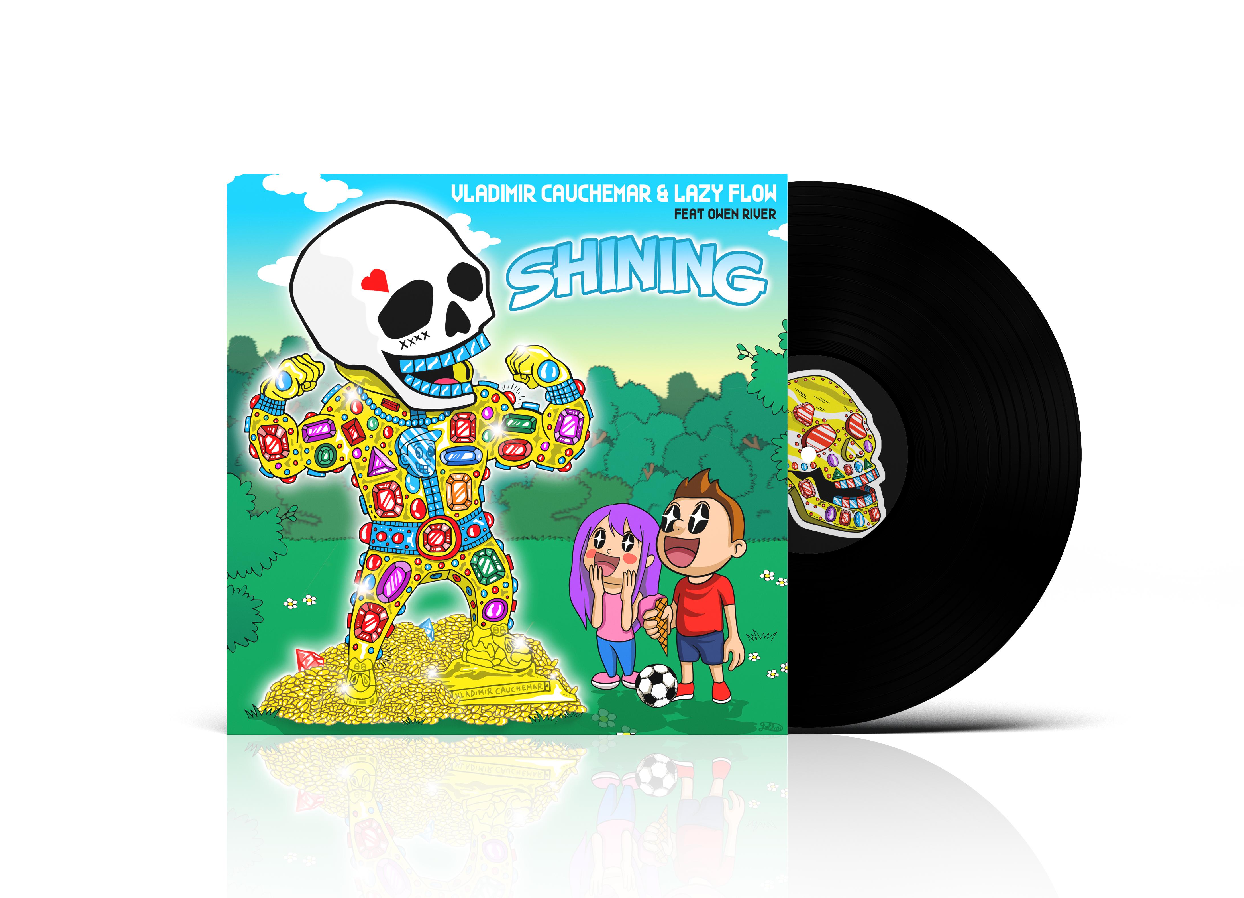 Shining vinyl