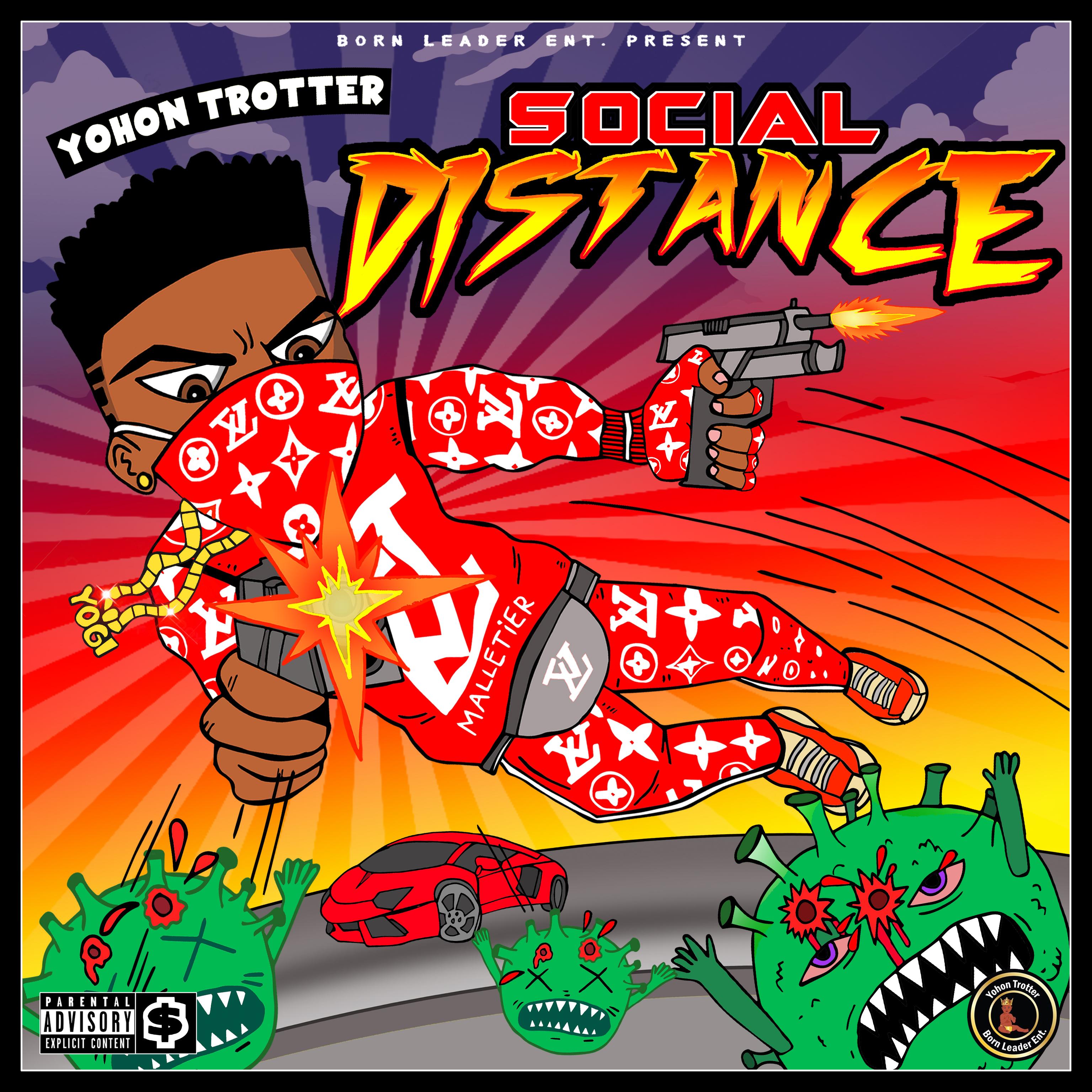 Yohon Trotter-Social Distance